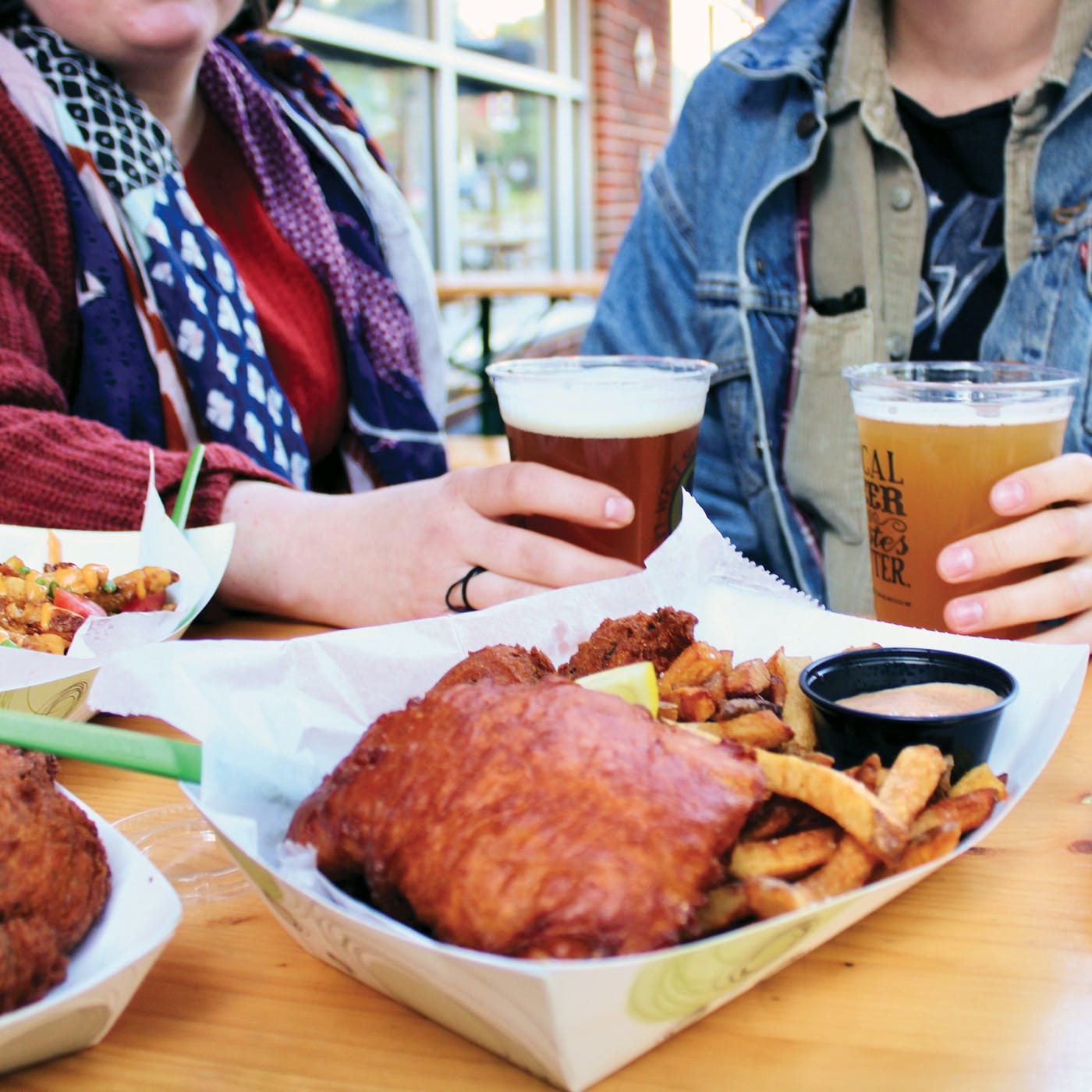 Smithtown Seafood at West Sixth Brewing